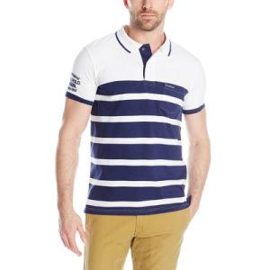 Fashion New Design Coton Classic Pique Polo Shirt pictures & photos