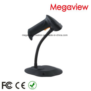 Factory Direct Sale Black & White USB Cable Wired Auto Scan Barcode Scanner with Stand/Bracket (MG-BS816T) pictures & photos