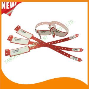 Barcode Entertainment Logo Customized Identify Band ID Bracelet (E8027-2-1) pictures & photos