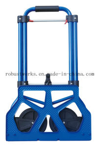 Foldable Steel Hand Truck (HT022FS) pictures & photos