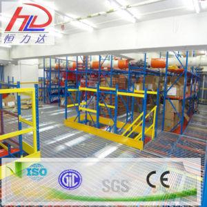 Medium Duty Steel Mezzanine Warehouse Rack pictures & photos