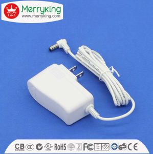 DOE VI Energy Efficiency UL FCC 24V 410mA AC DC Adapter for Humidifier pictures & photos