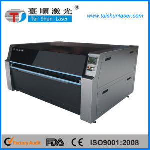80W CO2 Laser Cutting Machine for Plush Toy, Plush Slippers pictures & photos