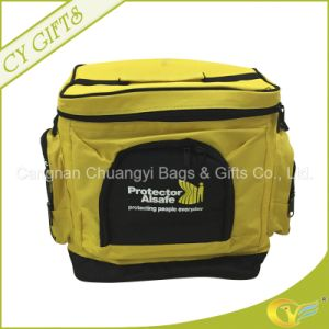 4200d Polyester Material with Thick Strap Cooler Bag