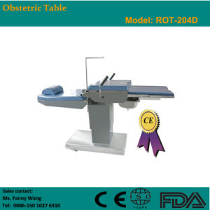2015 Promotion! ! Electric Obstetric Table (ROT-204D) -Fanny pictures & photos