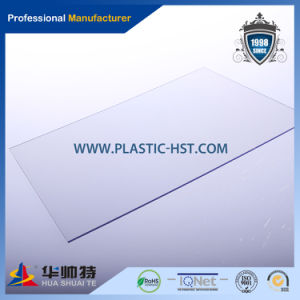 1mm Plastic Sheet PC Sheet Green Building Materials Polycarbonate Solid Sheet pictures & photos