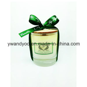 Gift Aroma Glass Jar Luxury Candle for Decoration pictures & photos