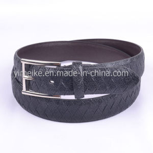 Low Price Factory Skinny OEM Promotion PU Belt for Man pictures & photos