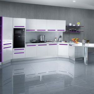 Brazil Style Metal Kitchen Cabinets Cheap Factory Kitchen Cabinets pictures & photos