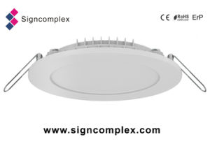 2835 8W Changing Room Slim LED Ceiling Panel Light Color Clarinet with CE RoHS ERP pictures & photos