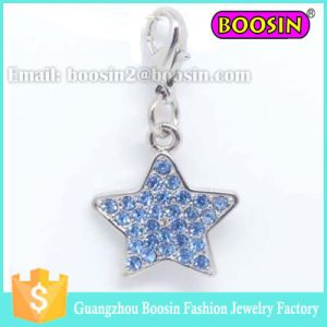 Fashion New Design Silver Crystal Star Jewelry Pendant Charm pictures & photos