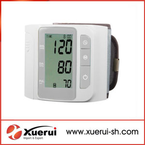 Wrist Type Automatic Electronic Sphygmomanometer pictures & photos