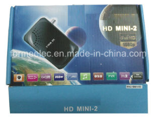 DVB-S DVB-S2 HD Mini Set Top Box Satellite Receiver pictures & photos