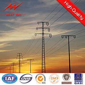 80FT Philippines Dodecagonal Steel Transmission Electrical Pole pictures & photos