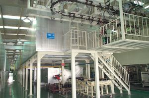 Powder Coating Production Line for MDF Wood Product!