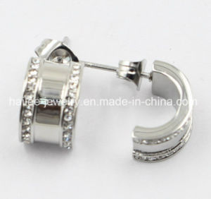Silver Stainless Steel Fashion Jewellery Earring pictures & photos