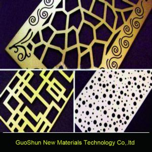 Waving Perforated Honeycomb Composite Aluminum Panel pictures & photos