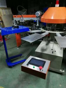Spg Automatic T-Shirt Rotary Silk Screen Printing Machine Price for Sale pictures & photos