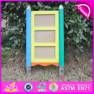 2015 Room Decoration Kids Stand Wooden Photo Frame, MDF 3 Layer Photo Frame for Children, High Quality Wooden Photo Frame W09A035 pictures & photos