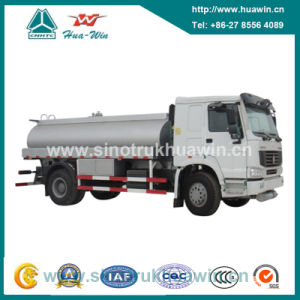 Sinotruk HOWO 4X2 Fuel Tanker Truck pictures & photos