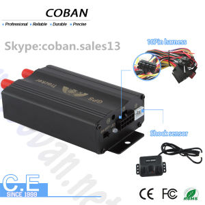 GPS GSM Car Tracker GPS Tk103A with Door, Acc, Fuel Alarm System on Web Server Tracking Software pictures & photos