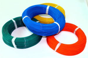 Insulated Fluoroplastic Wire with UL1332 pictures & photos