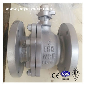 API Carbon Steel Flanged Ball Valve, Wcb, CF8, CF8m 1/2′′ to 24′′ 150# pictures & photos