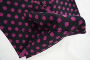 Wool Fabric Woolen Flecky Pink&Black pictures & photos