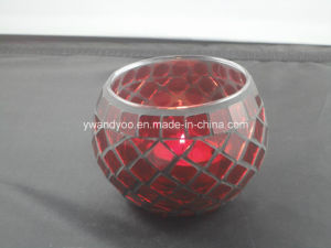 Red Mosaic Tealight Candle Holder as Gift Luxury pictures & photos
