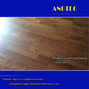3 Strips Oak Engineered Wood Flooring pictures & photos