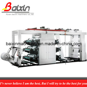 4 Color Plastic Bag Flexographic Printing Machine pictures & photos