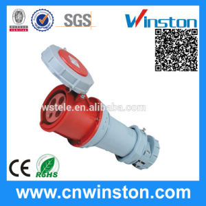 Wst-1117 4pin 63A Waterproof Industrial Connector with CE pictures & photos