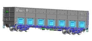 Open Top Freight Wagon C70 pictures & photos