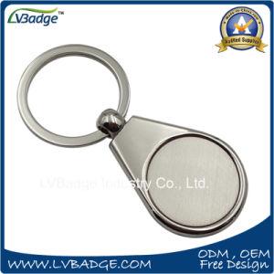 Promotional Souvenir Rectangle Shape Metal Key Chain for Advertising pictures & photos