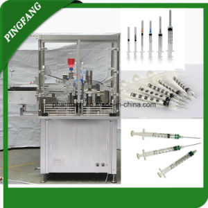 New High Precision Prefilled Syringe Filling and Plugging Machine for Manual Pharmaceutical pictures & photos