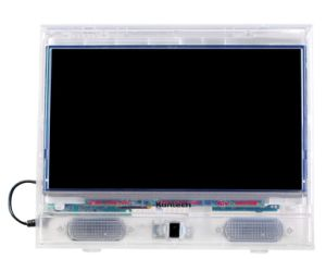New Transparent LED Prison TV with DVD and FM Radio Features pictures & photos