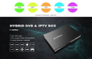 Android Receiver with Functions CAS HD Decoding Ipremium I9 pictures & photos