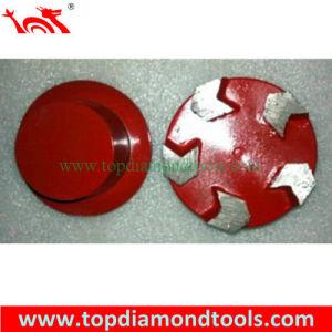 Arrow Segment Diamond Plug Floor Grinding Disc for Terrco pictures & photos