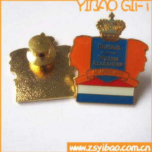 Custom Lapel Pin, Pin Badge with Butterfly Clutch (YB-SB-01) pictures & photos
