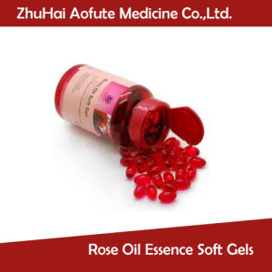 Hot Sale Rose Oil Essence Soft Gels pictures & photos