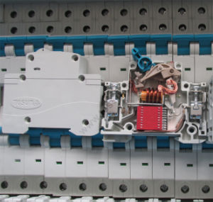 MCB Miniature Circuit Breaker with Fork Busbar Terminal pictures & photos