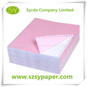 55GSM Carbonless Printing Computer CFB Paper pictures & photos