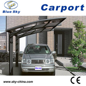 Good Quality Steel Structure Polycarbonate Carports for Car Park (B800) pictures & photos