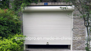Residential Automatic Aluminum Rolling Shutter Garage Door