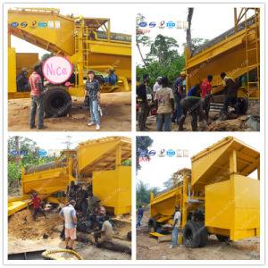 Mobile Trommel Gold Wash Plant pictures & photos