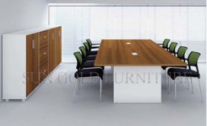 High End Conference Modern Meeting Table Wooden Office Furniture pictures & photos