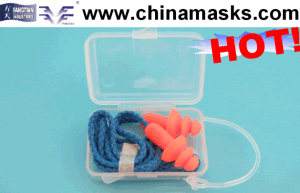PU Noise Reduction Safety Disposable Earplug pictures & photos