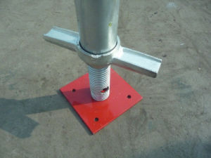Base Plate for Shoring Frame Scaffolding (exterior) pictures & photos