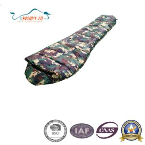 Waterproof Camouflage Warm and Convenient Mummy Sleeping Bags pictures & photos