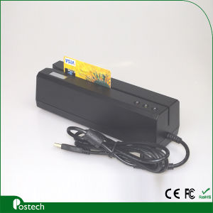 Track 1/2/3 Magnetic Card Reader/Writer Msr606 (MSR606) pictures & photos